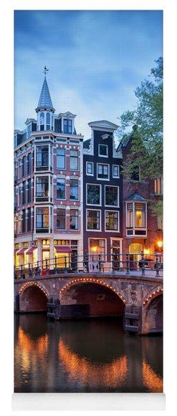 Evening In Amsterdam Yoga Mat