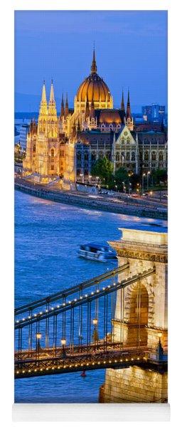 Evening In Budapest Yoga Mat
