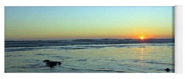 Evening Sunset Yoga Mat