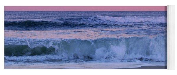 Evening Waves - Jersey Shore Yoga Mat