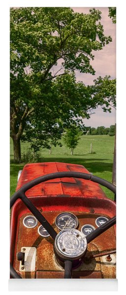 Ever Drive A Tractor Yoga Mat