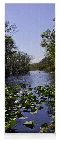 Everglades In Perspective - Florida Yoga Mat