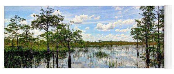 Everglades Landscape 8 Yoga Mat