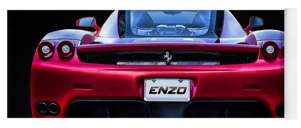 Exotic Ferrari Enzo Yoga Mat