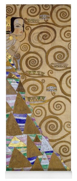 Expectation Preparatory Cartoon For The Stoclet Frieze Yoga Mat