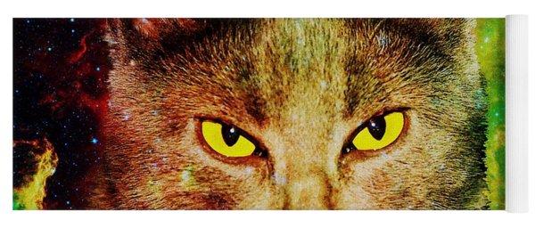 Eye Contact Yoga Mat