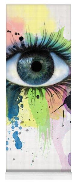 eye Yoga Mat