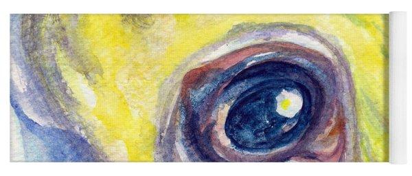 Eye Of Pelican Yoga Mat
