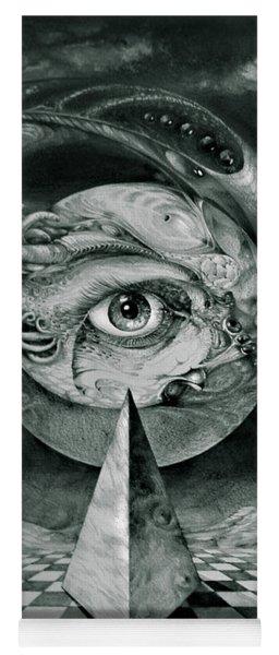 Eye Of The Dark Star Yoga Mat