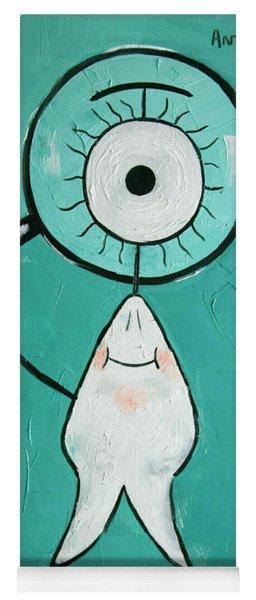 Eye Tooth  Yoga Mat