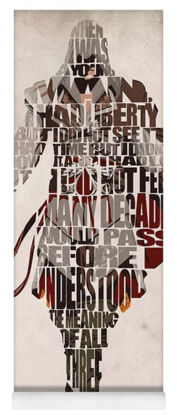 Ezio Auditore Da Firenze From Assassin's Creed 2  Yoga Mat