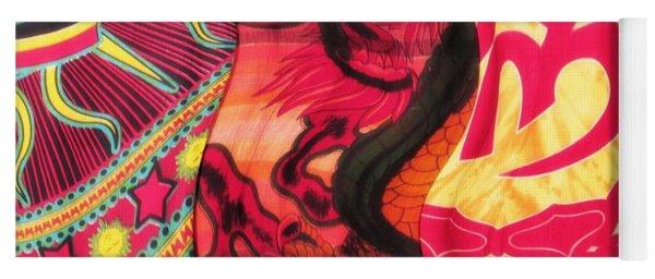 Fabric Collision Yoga Mat