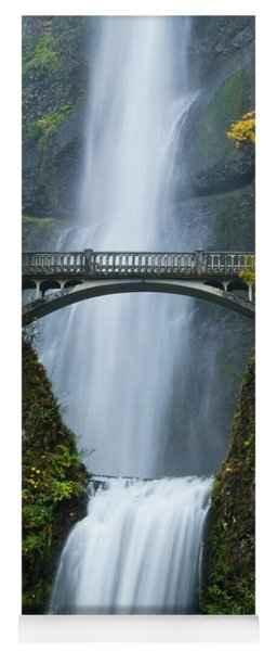 Fall At Multnomah Falls Yoga Mat