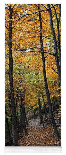 Fall Foliage Colors 03 Yoga Mat
