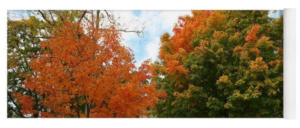 Fall Foliage Colors 09 Yoga Mat