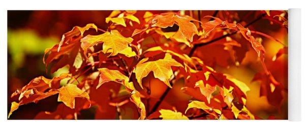 Fall Foliage Colors 14 Yoga Mat