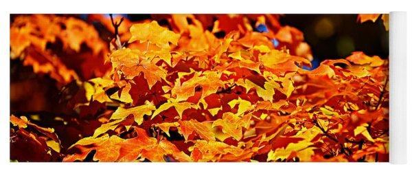 Fall Foliage Colors 16 Yoga Mat