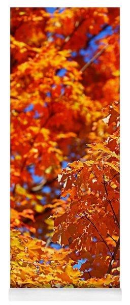 Fall Foliage Colors 17 Yoga Mat