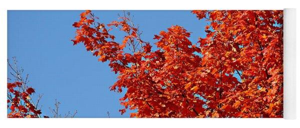 Fall Foliage Colors 20 Yoga Mat