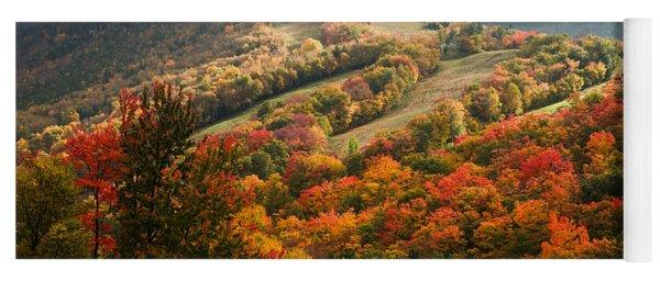 Fall Foliage On Canon Mountain Nh Yoga Mat