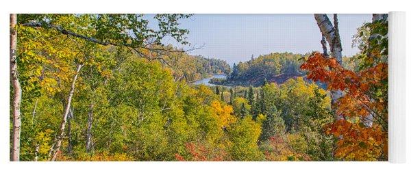 Fall In Gooseberry State Park Yoga Mat