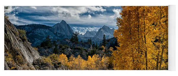 Fall In The Eastern Sierra Yoga Mat