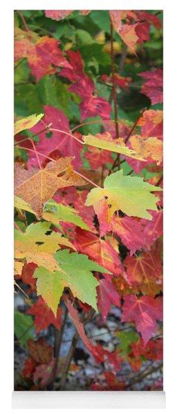 Fall Is Here Yoga Mat