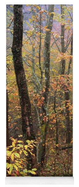 Fall Mist Yoga Mat