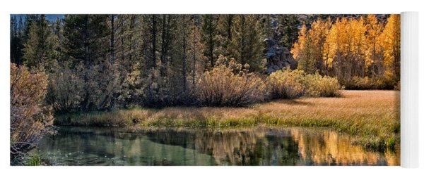 Fall Reflections Yoga Mat