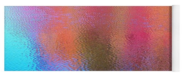 Fall Reflections In South Yoga Mat