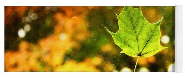 Falling Leaf Yoga Mat