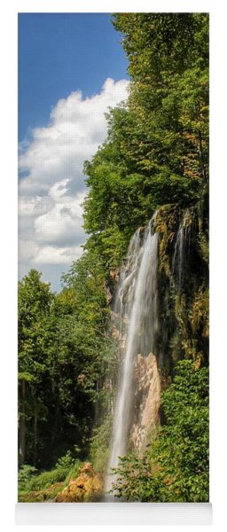 Falling Springs Falls Yoga Mat