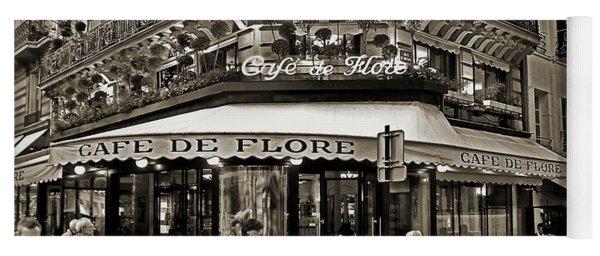 Famous Cafe De Flore - Paris Yoga Mat