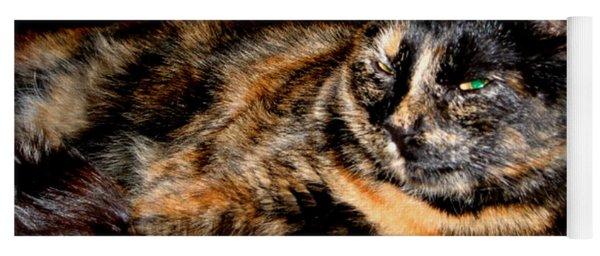 Fancy Cat Yoga Mat