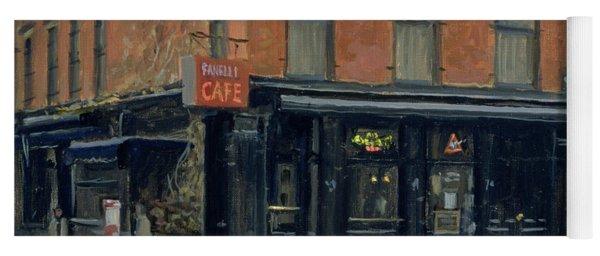 Fanellis Bar, New York, 1996 Oil On Canvas Yoga Mat