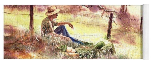 Farmers And Hunters Heaven Yoga Mat