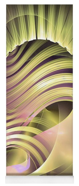 Fascinatio Lucis - Abstract Art Yoga Mat