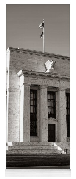Federal Reserve Yoga Mat