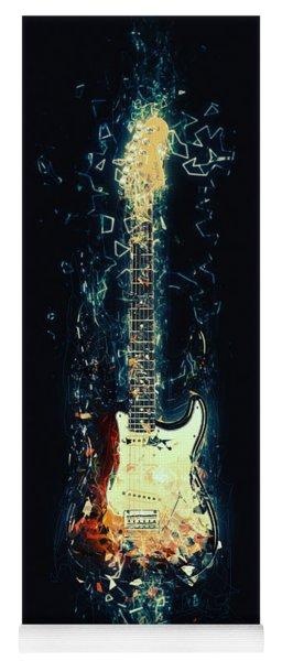 Fender Strat Yoga Mat