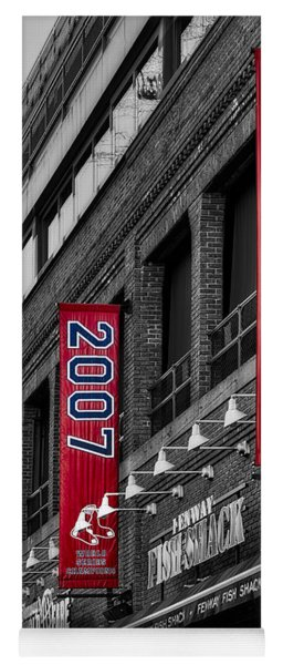 Fenway Boston Red Sox Champions Banners Yoga Mat