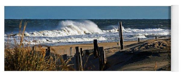 Fenwick Dunes And Waves Yoga Mat