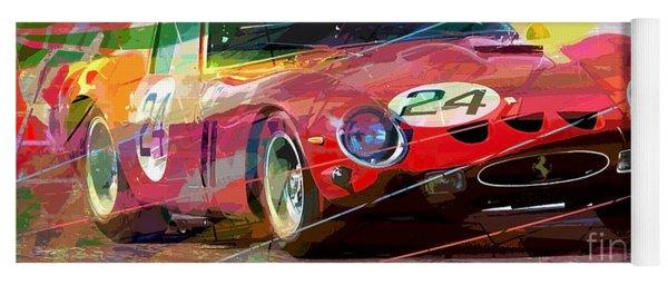 Ferrari 250 Gto Vintage Racing Yoga Mat