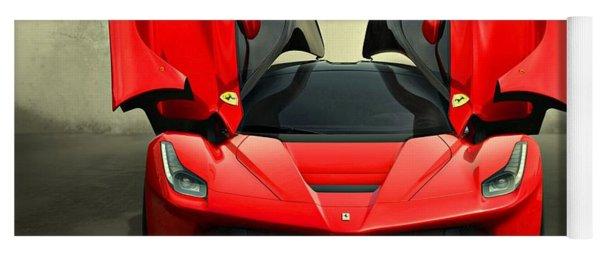 Ferrari Laferrari F 150 Supercar Yoga Mat