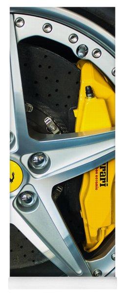 Ferrari Wheel 3 Yoga Mat