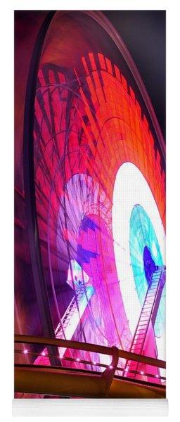 Ferris Wheel Yoga Mat