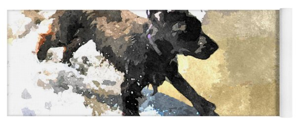Field Spaniel Joy Yoga Mat