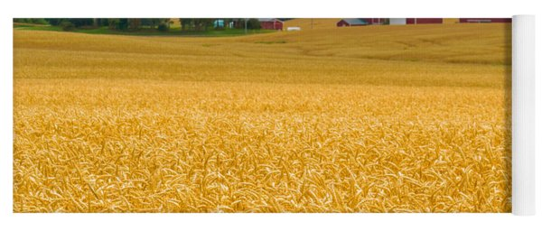 Fields Of Gold Yoga Mat