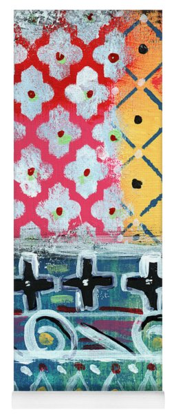 Fiesta 6- Colorful Pattern Painting Yoga Mat