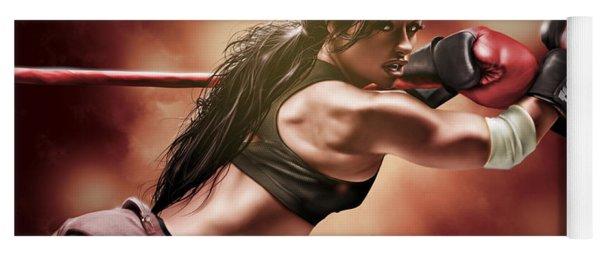 Fight Night Yoga Mat