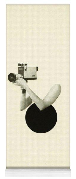 Film Noir Yoga Mat